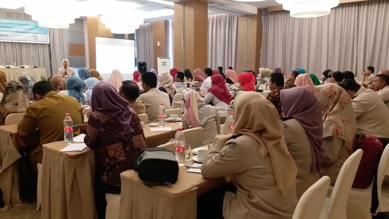 Pemantapan Petugas Kesehatan Pemeriksa Haji Daerah Dalam Rangka Cegah Tangkal Penyakit Tahun 2019
