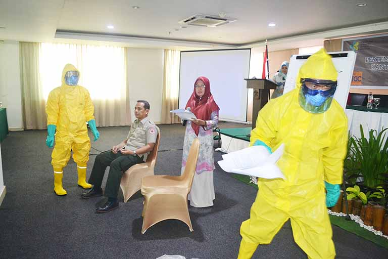 Orientasi Pengendalian Dan Penanggulangan Penyakit Potensial KLB Tahun 2019