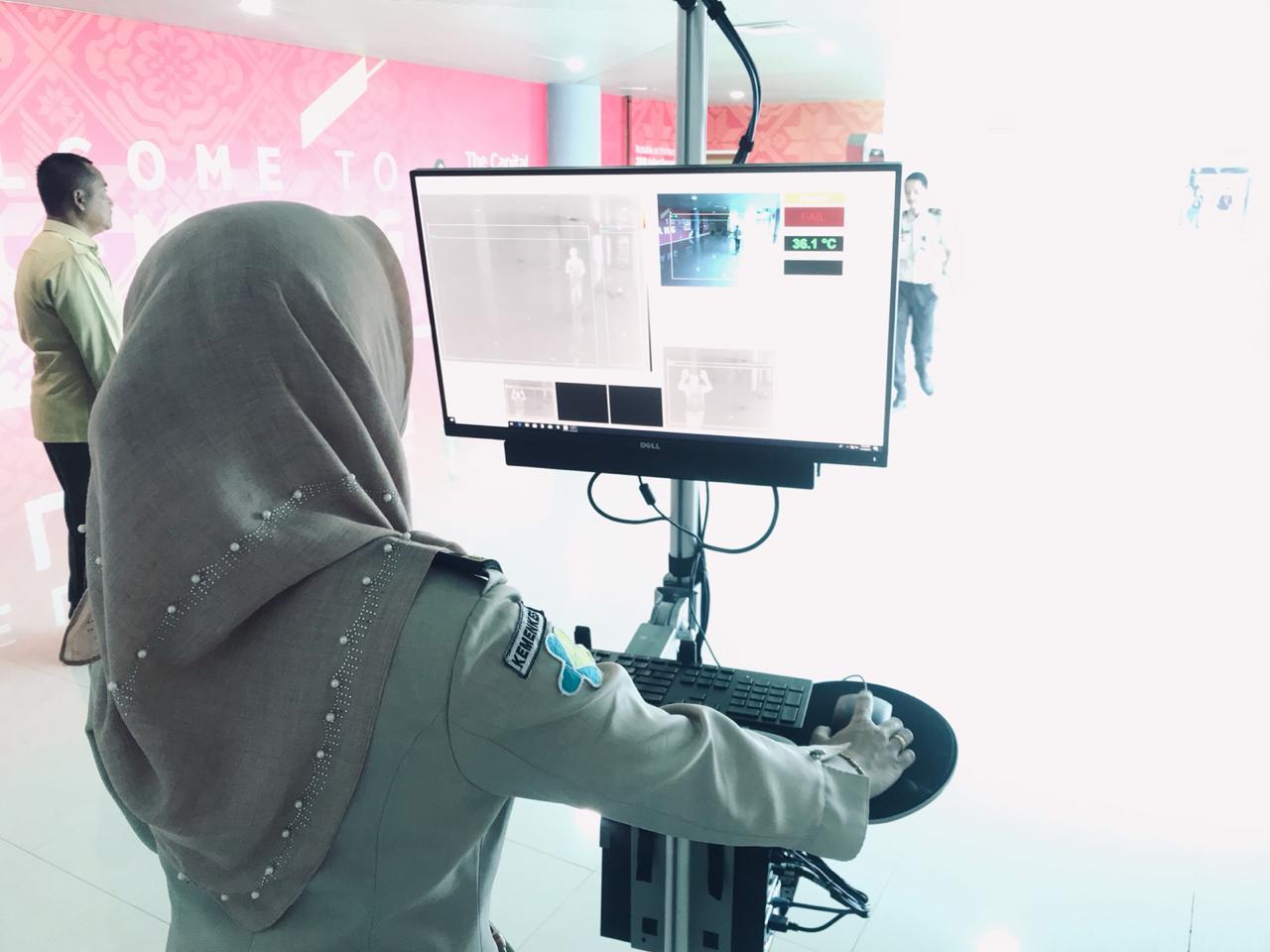Kewaspadaan KKP Palembang Terhadap Monkeypox di Bandara SMB II