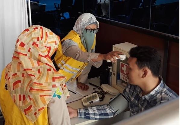Pelayanan Kesehatan Arus Mudik di Bandara Internasional SMB II Palembang Tahun 2019