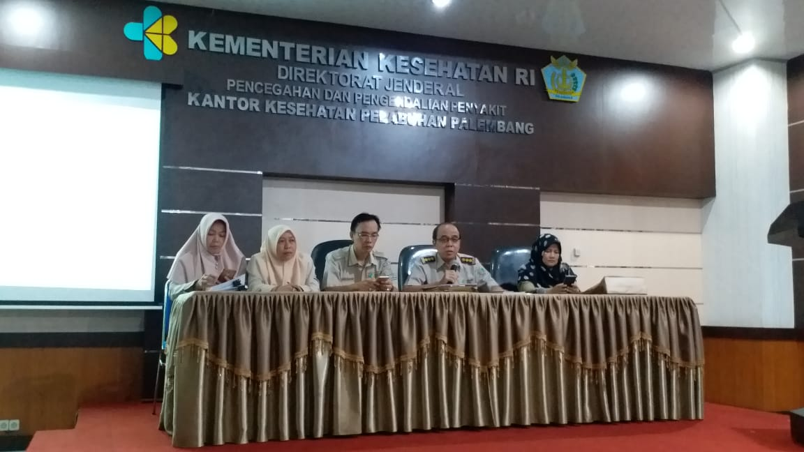 Rapat Internal Bulanan KKP Palembang, Periode Mei 2019