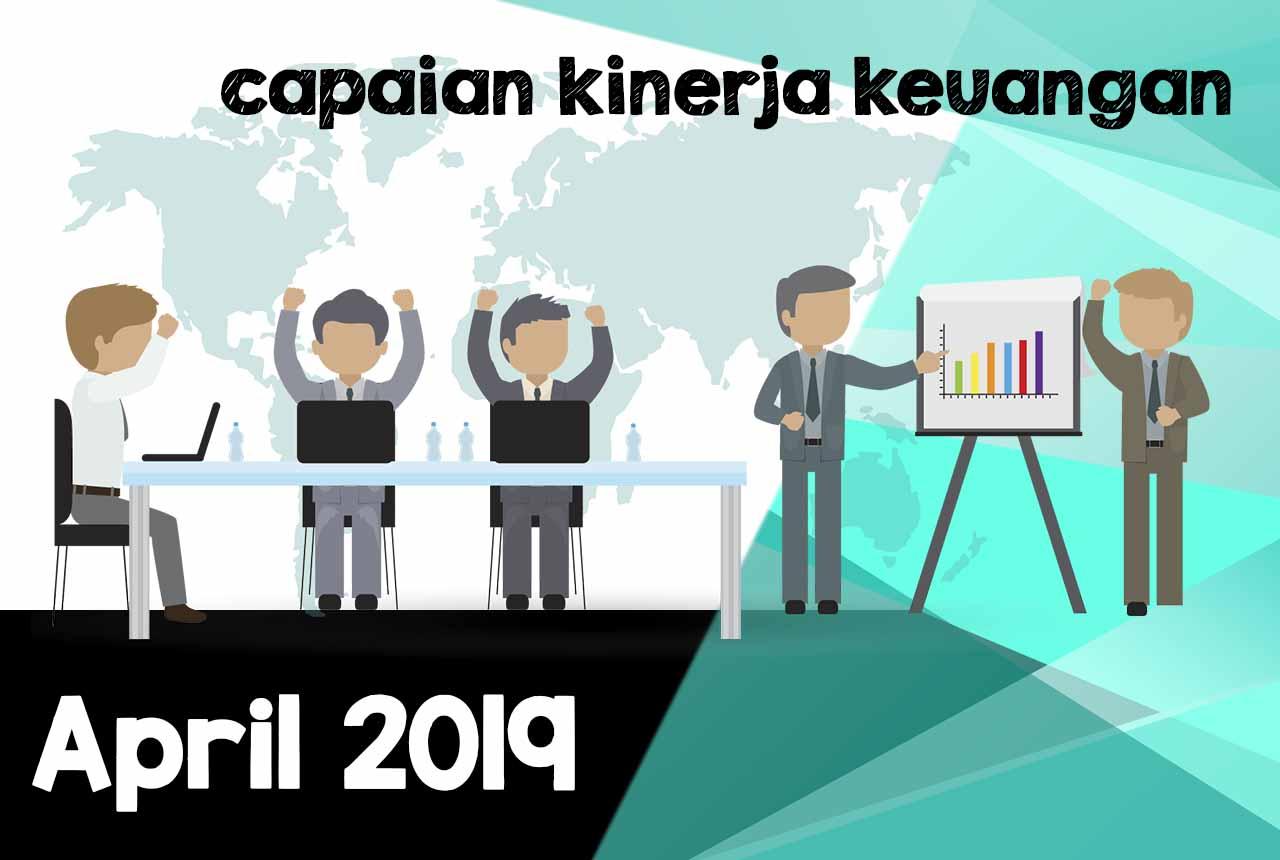 Laporan Capaian Kinerja Anggaran KKP Palembang per April 2019
