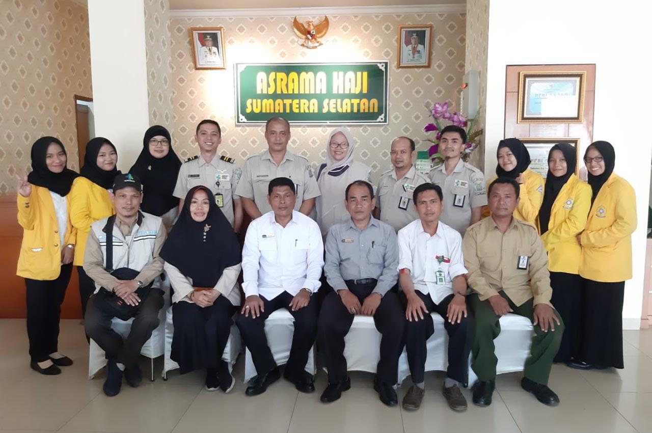 Pemeriksaan Pra Embarkasi di Asrama Haji Palembang