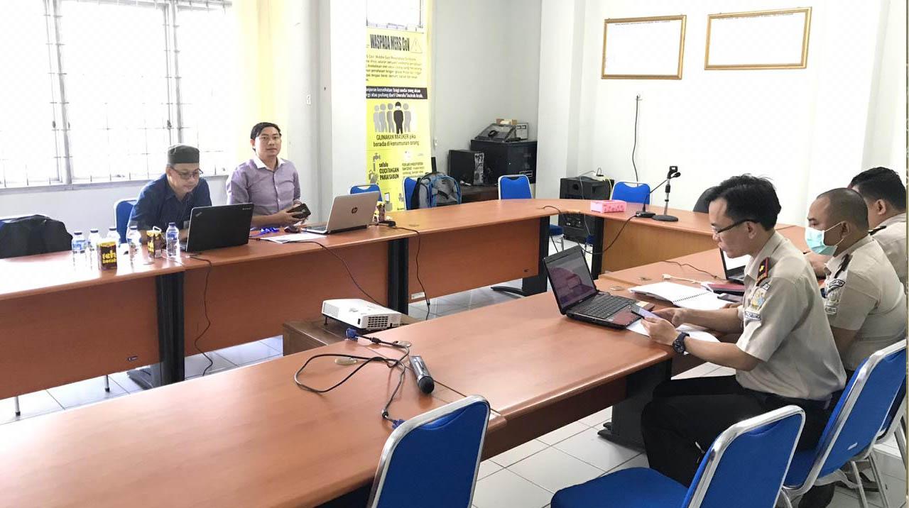 Untuk Meningkatkan Penyerapan Anggaran, Itjend Kemenkes RI Lakukan Evaluasi di KKP Palembang