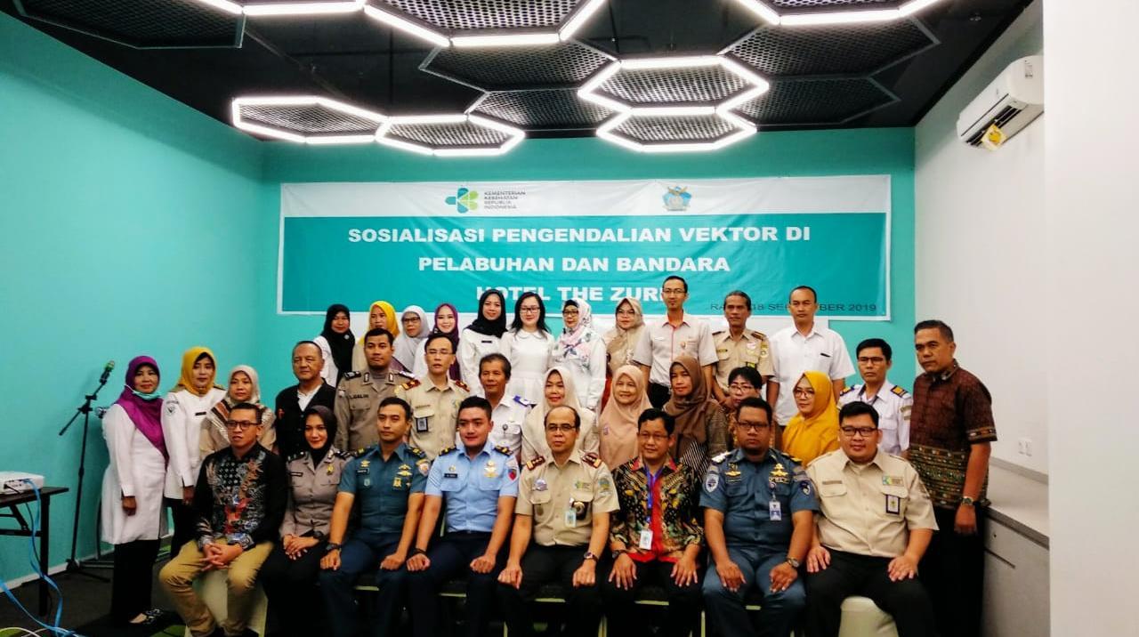 Tingkatkan Kesadaran Pengendalian Vektor di Pelabuhan dan Bandara, KKP Palembang Adakan Sosialisasi