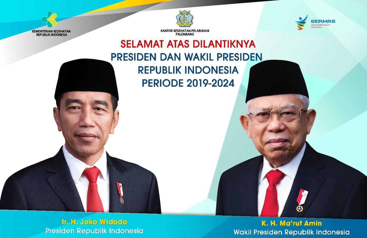 Selamat, Atas Pelantikan Presiden & Wakil Presiden Republik Indonesia Periode 2019-2024