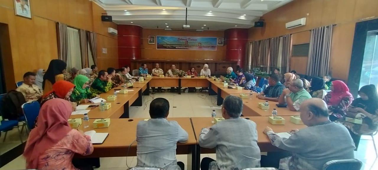 Pertemuan Koordinasi Kebijakan Kesehatan Tahun 2020 di Dinkes Prov Sumatera Selatan
