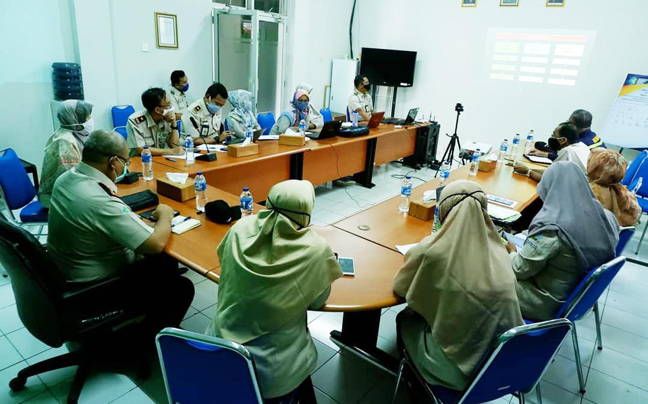 Wujudkan Tata Kelola Penyelenggaraan Pemerintahan Yang Baik, KKP Palembang Lakukan Sosialisasi SPIP